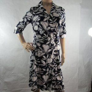 Just Taylor Floral Printed Dress